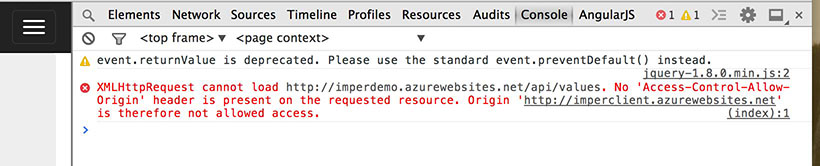 How to use CORS with ASP NET Web API 2 0 | Ugo Lattanzi's tech world
