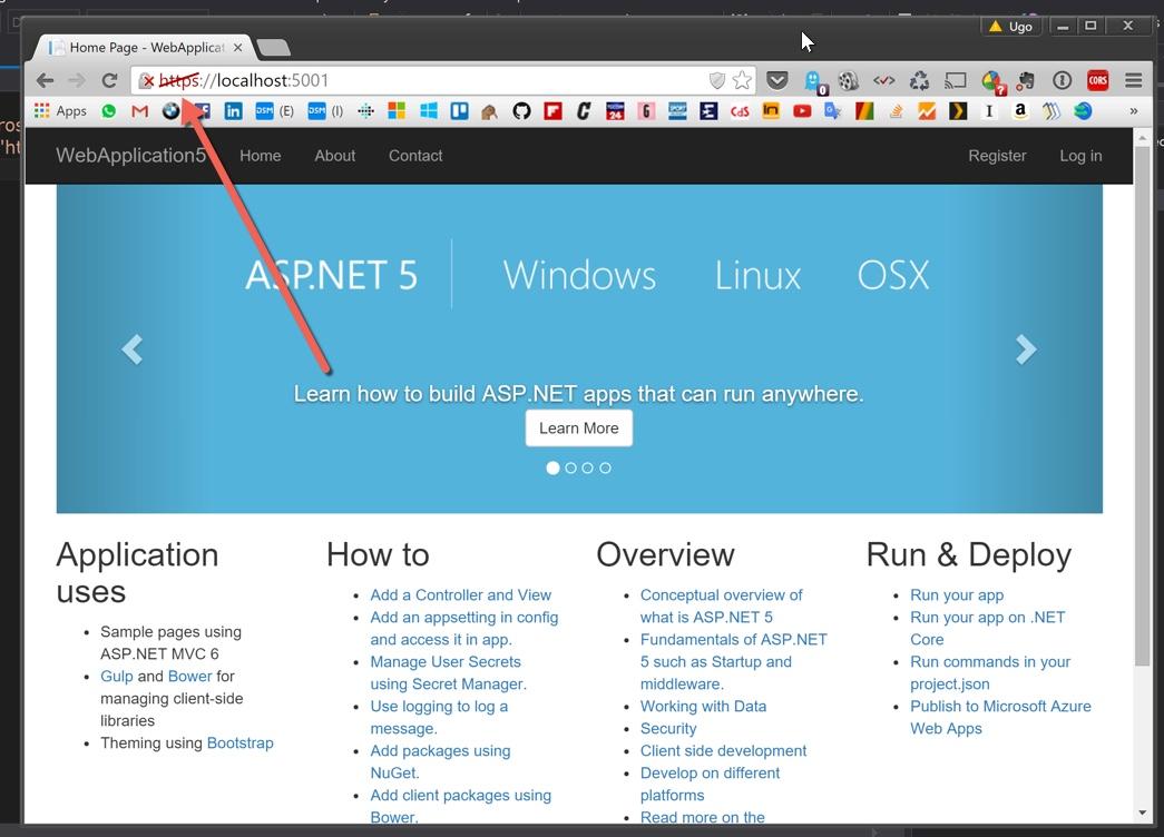 Using Kestrel with ASP NET 5 | Ugo Lattanzi's tech world